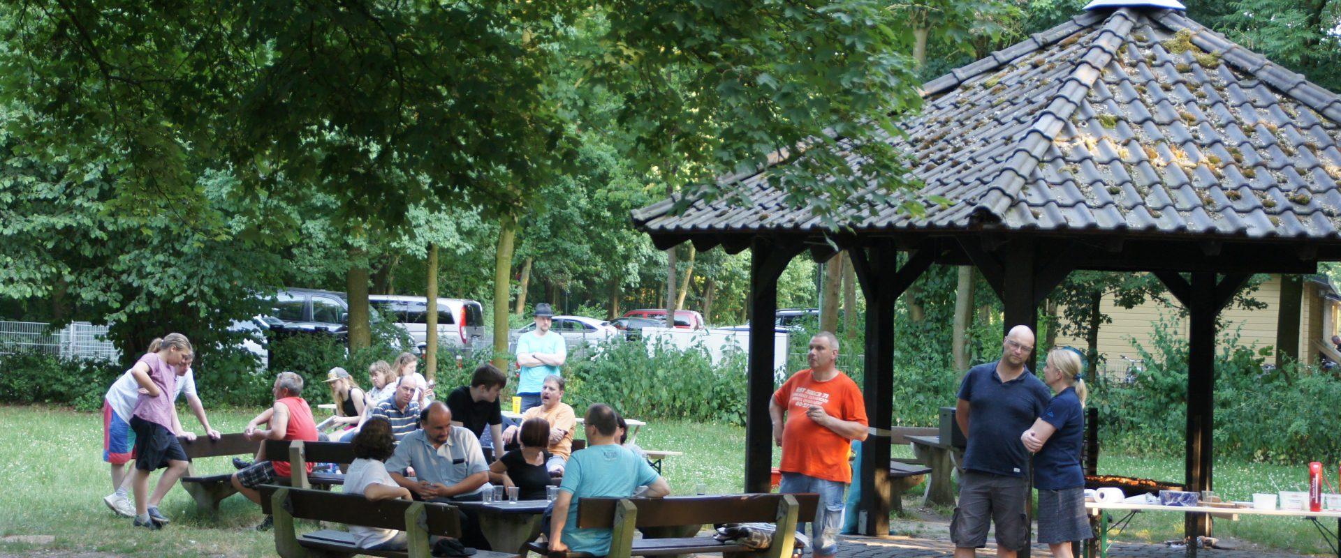 Permalink auf:Sommerfest bei herrlichem Wetter